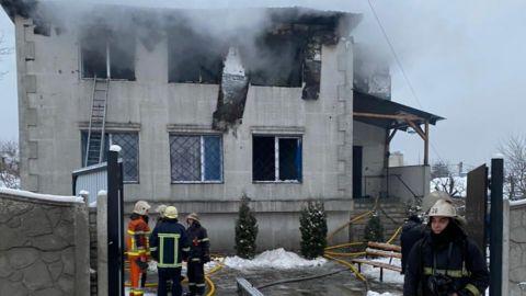 Харькове во время пожара в доме престарелых погибли 15 человек