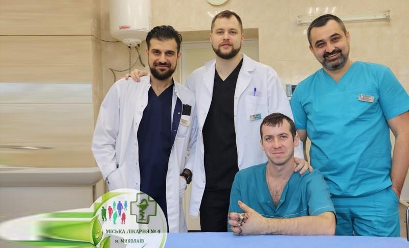 Николаевские врачи пришили пациенту пальцы отрезанные турбинкой