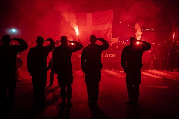 Жители Дании протестуют против