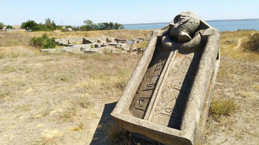 На Николаевщине знаменитая «Ольвия» страдает от незаконных раскопок