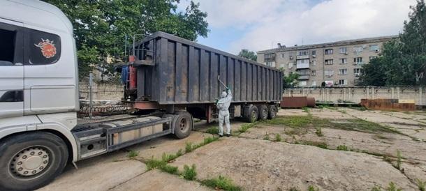 В порту Херсона обнаружили грузовик с радиоактивным металлоломом