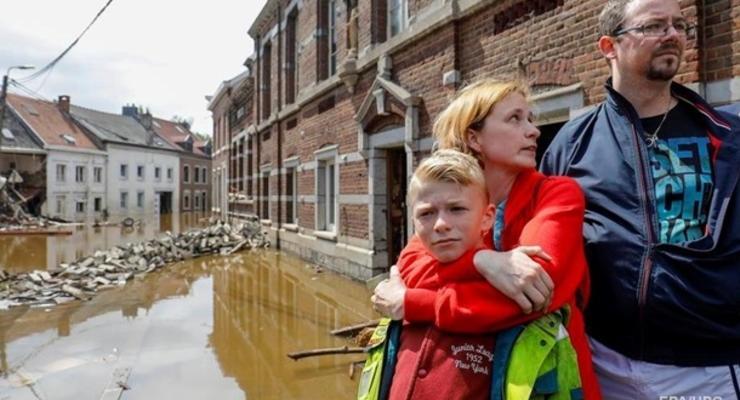 В Бельгии десятки жертв наводнения