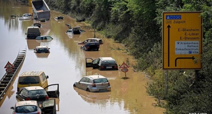 Из-за наводнения прекращено транспортное сообщение ФРГ-Чехия