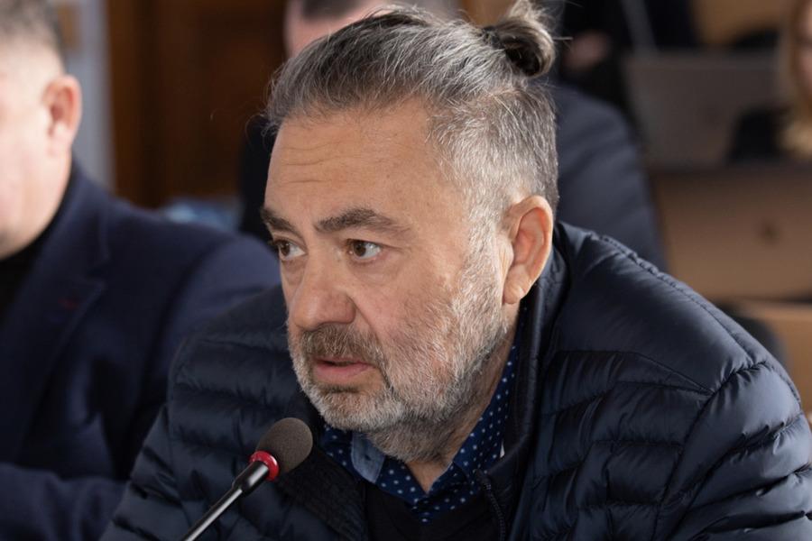 «Сейчас пойдешь нах ** н»: депутат горсовета Кантор обругал журналистку ТРК МАРТ