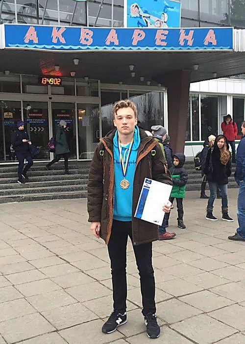 Николаевский пловец завоевал бронзовую медаль на чемпионате Украины