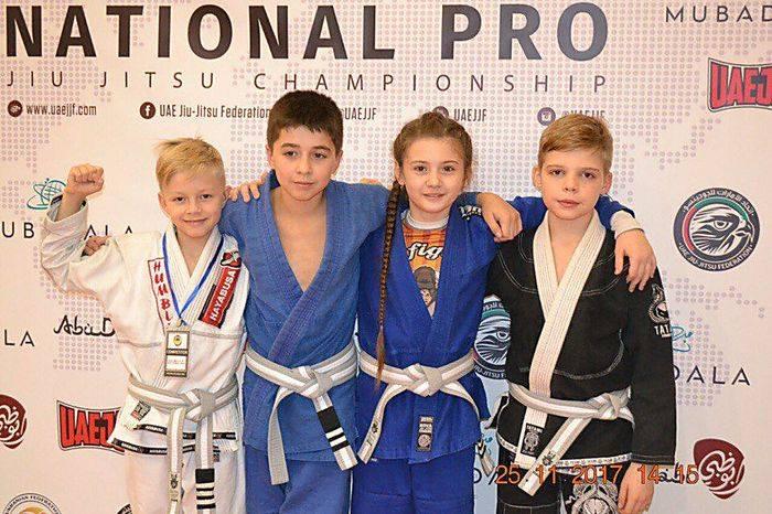 Спортсмены из Николаева завоевали 5 медалей на международном чемпионате по джиу-джитсу