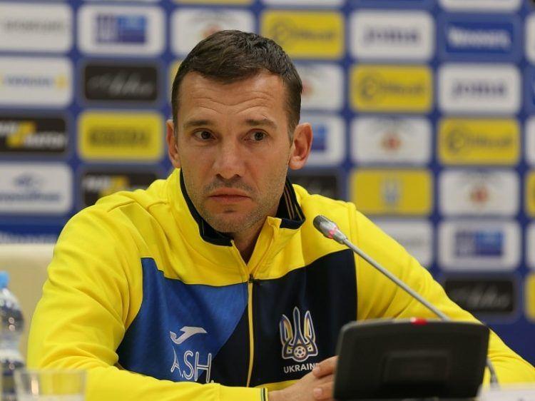 Андрей Шевченко пригласил Бразилию на товарищеский матч