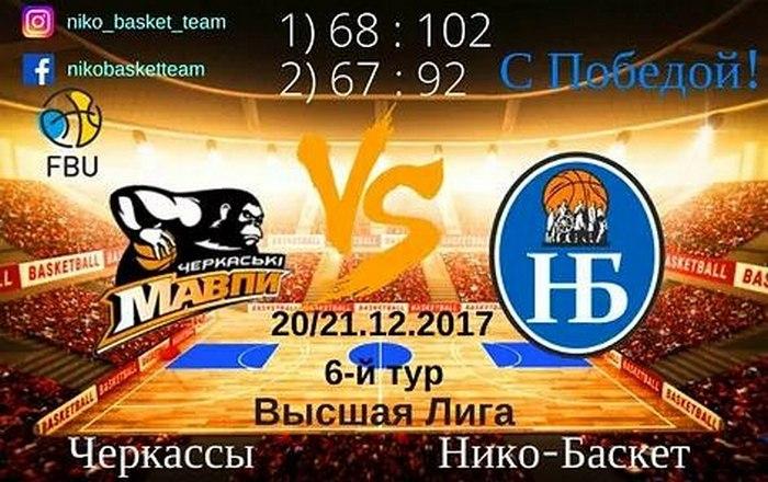 Баскетбольный клуб «Нико-Баскет» в высшей лиге одержал двенадцатую победу подряд