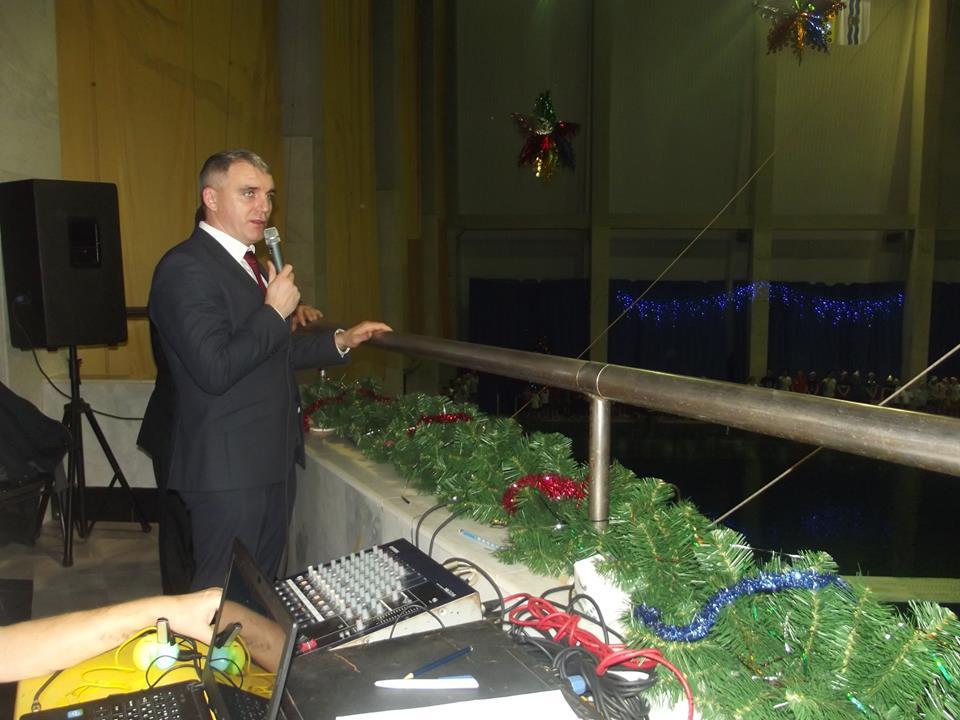 Мэр Николаева Сенкевич дал обещание купить три новых трамплина для СКПБ «Водолей»