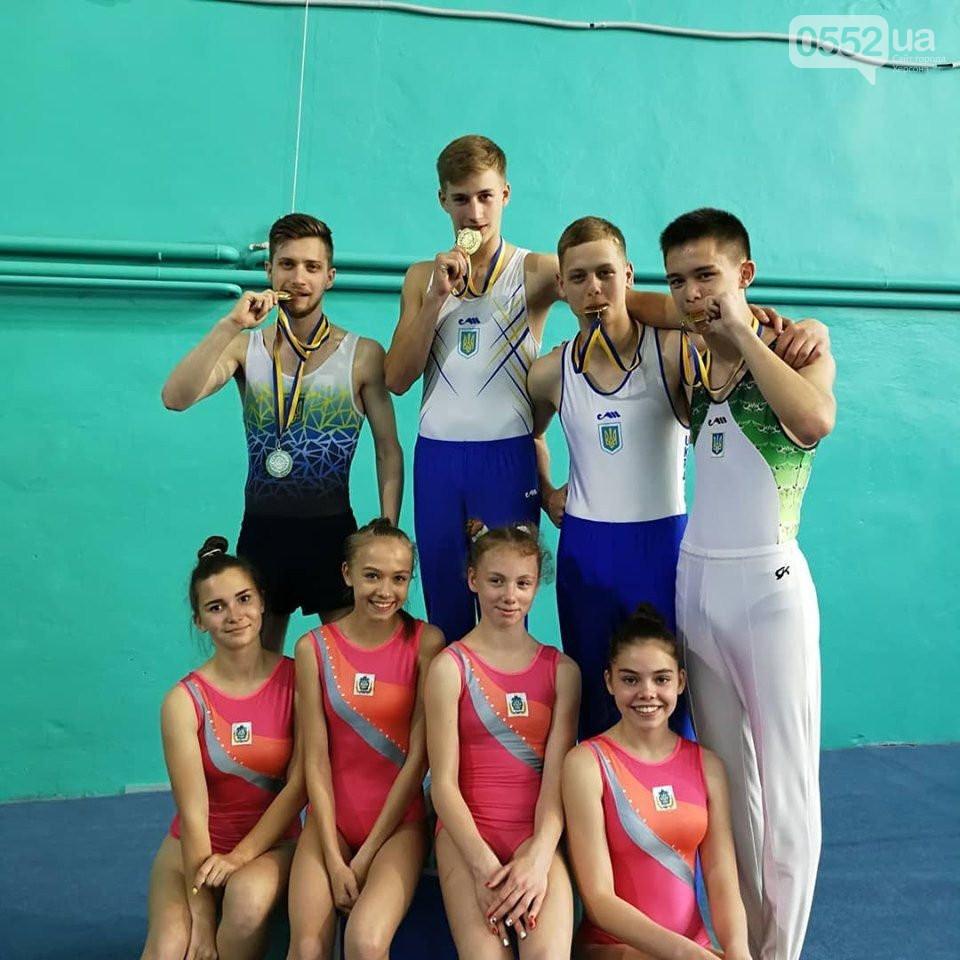 Команда батутистов из Херсона стала «золотыми» чемпионами Украины