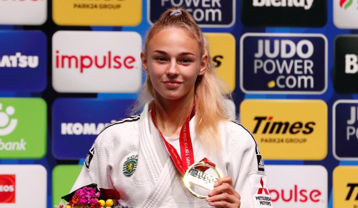 Украинка Белодед выиграла чемпионат мира по дзюдо