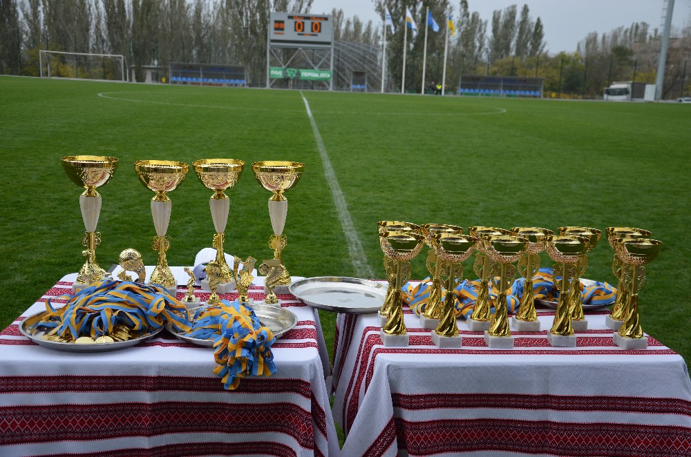 В рамках святкування 111-річниці футболу Миколаївської області відбувся великий фестиваль дитячого футболу
