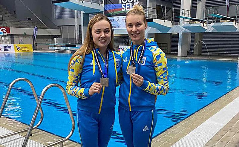 Николаевские спортсменки из Корабельного района стали призерками гран-при по прыжкам в воду в Сингапуре
