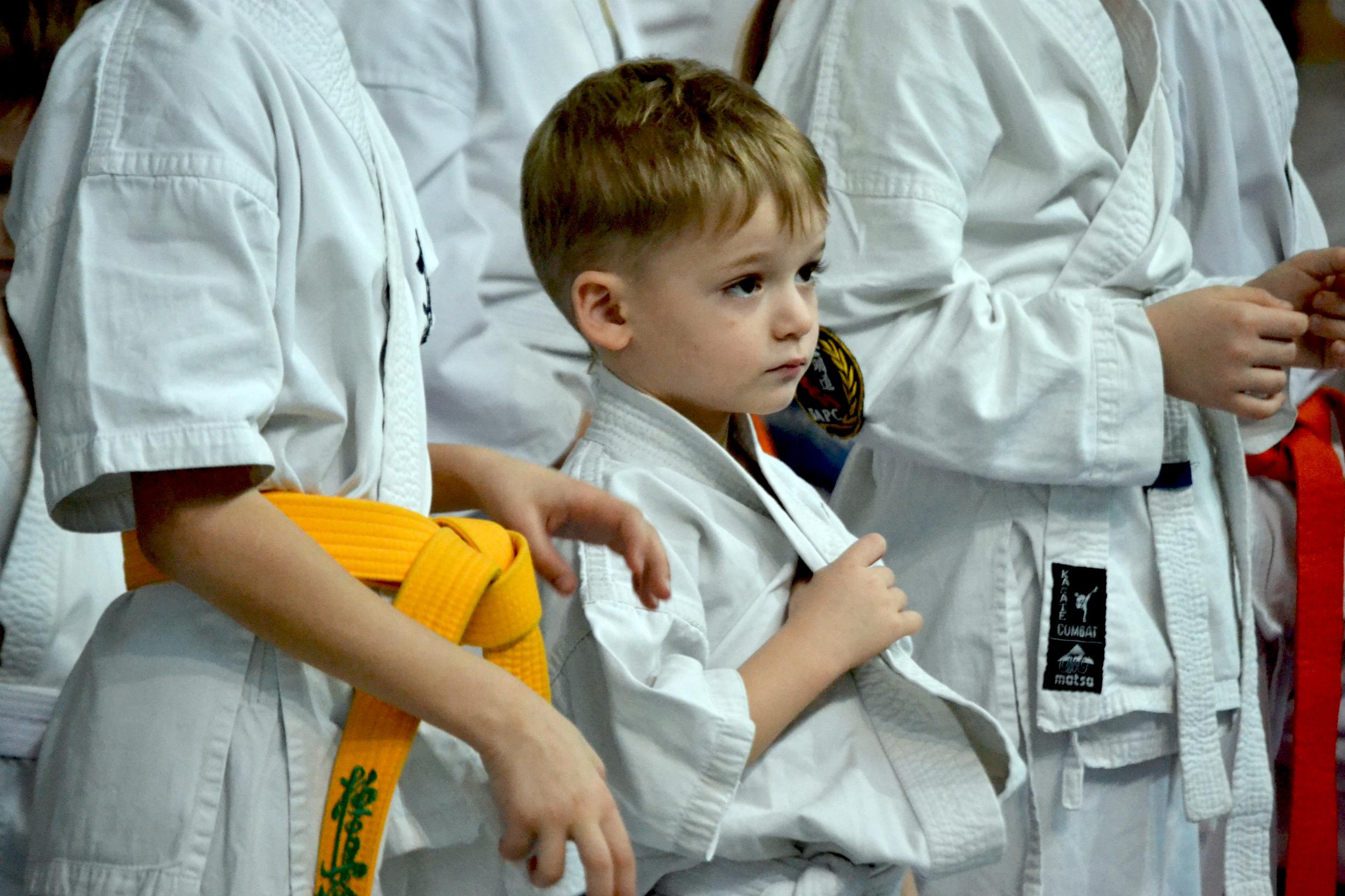 В Николаеве состоялся открытый чемпионат Украины киокушин будо каратэ кенбукай