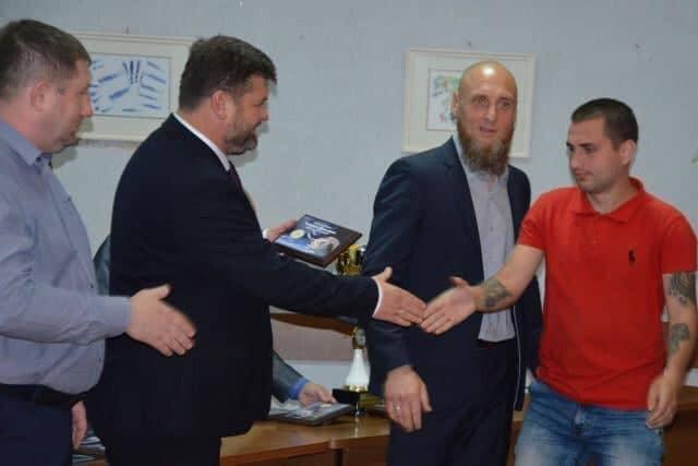 Николаевский спасатель признан лучшим игроком 4 лиги по футзалу