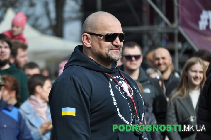 В Николаеве на «Muromets Fest» богатыри установили два Национальных рекорда Украины