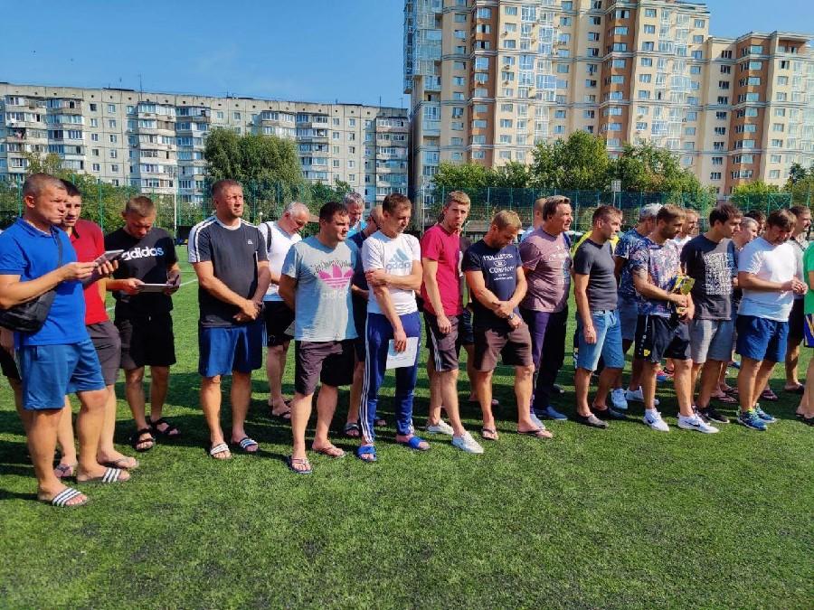 Сборная Николаевской области приняла участие в Суперкубке Украины среди ветеранов памяти В. Лобановского и О. Базилевича