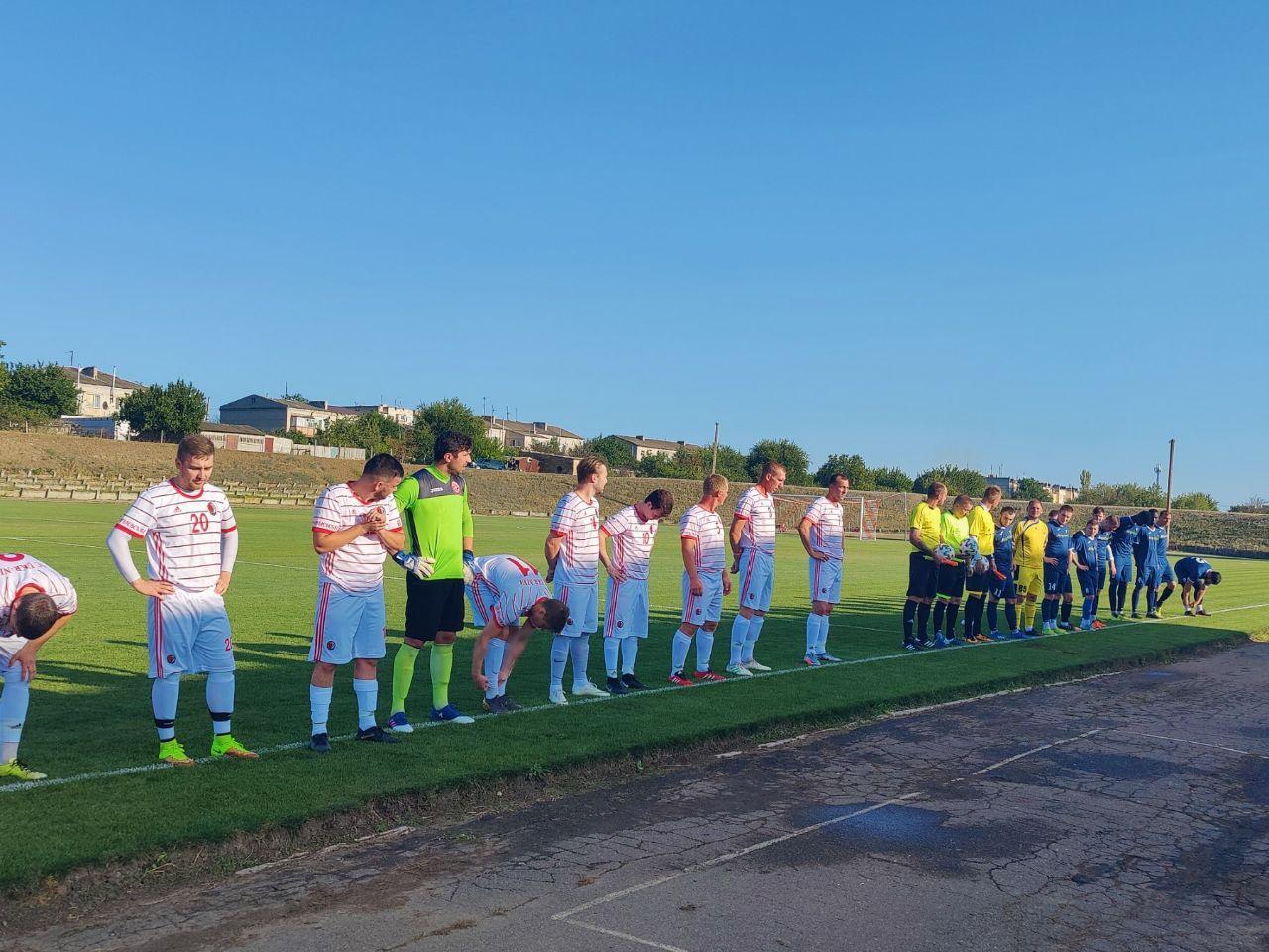 В Березанке открыли отреставрированное футбольное поле