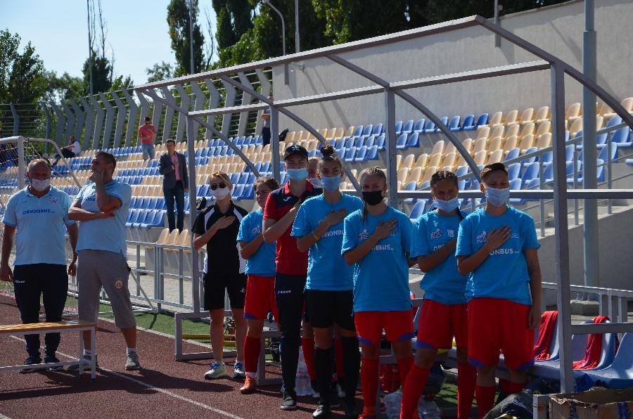 ФК «Ника» в напряженном поединке минимально уступила уманским «Пантера» в Высшей лиге Чемпионата Украины
