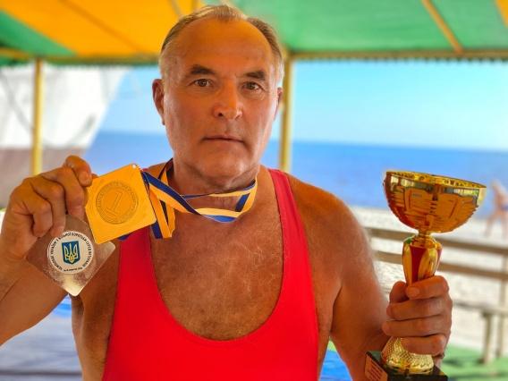 Николаевский борец Николай Ворона стал шестикратным чемпионом Украины среди ветеранов!