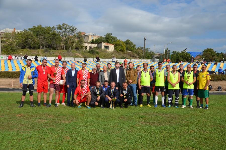 В Очакове состоялся ежегодный масштабный праздник ко Дню футбола Николаевской области