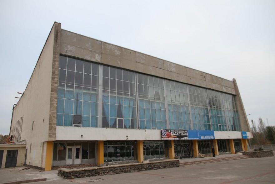 В Николаеве вскоре приступят к внутренним работам в спорткомплексе «Надежда»