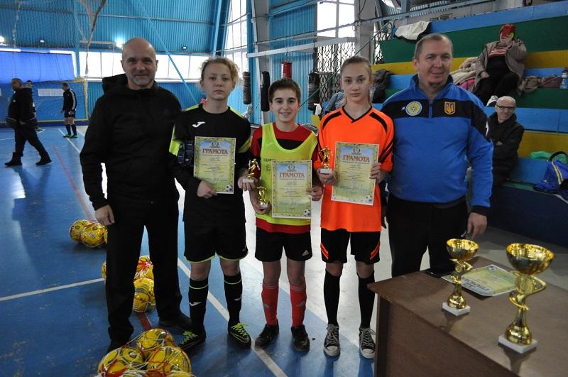 В Николаеве прошел Зимний Кубок среди девичьих команд