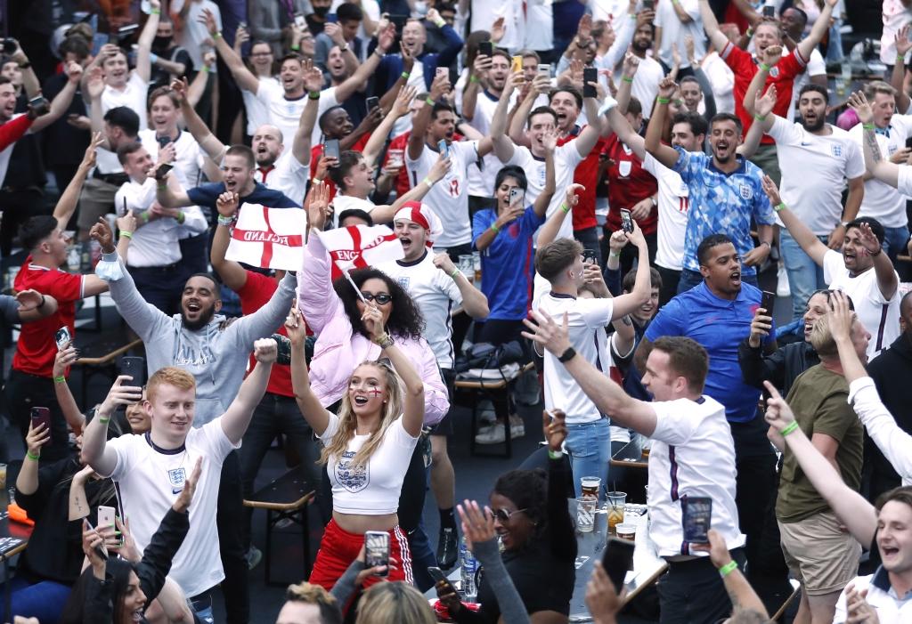 Сборные Англии и Италии сыграют в финале Евро