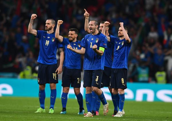 Сборная Италии стала чемпионами Европы