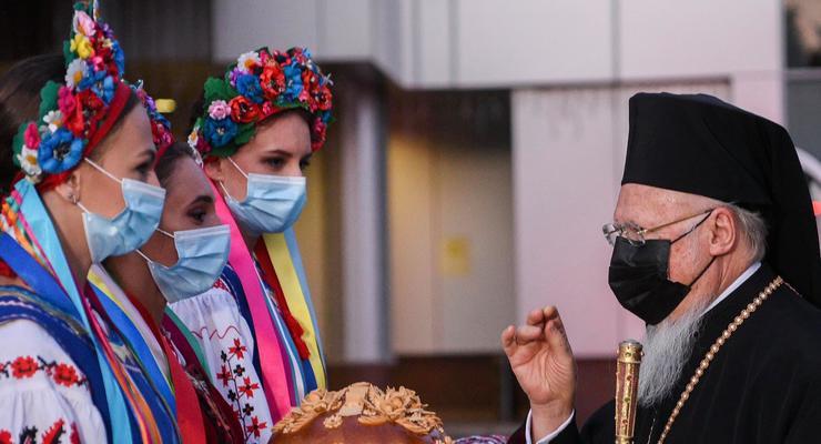 Итоги 21 августа: Санкции против Шария и патриарх Варфоломей в Киеве