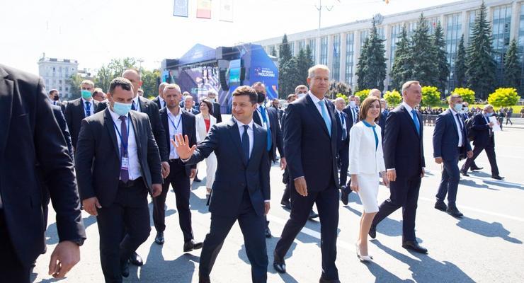 Итоги 28 августа: Зеленский в Молдове и $60 млн Украине на оборону