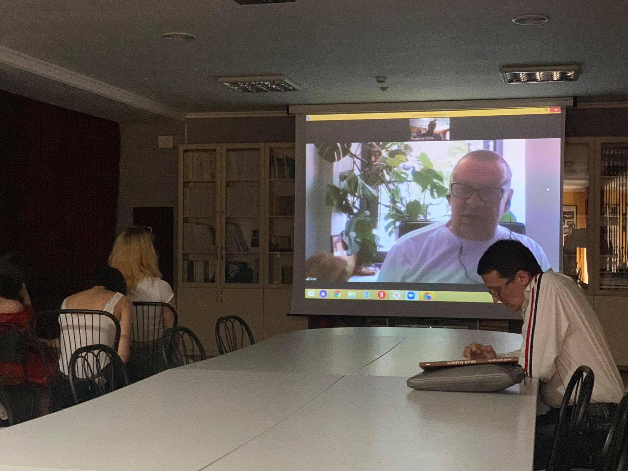 On-line спілкування з литовським режисером стало яскравою сторінкою ТЕАТРОНу – 2021